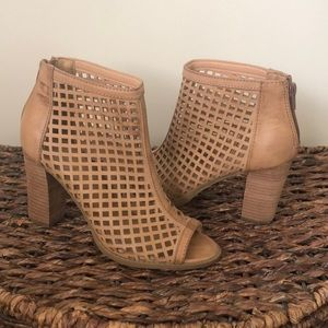 Report Caged Ankle Bootie Shootie 7